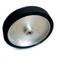 300 * 50 * 25 ملليمتر الصلبة تلميع المطاط عجلة حزام طاحونة الاتصال عجلة