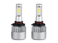 COB чипы автомобилей фары комплекты светодиодные вождения автомобилей лампы 9005 / HB3 подключите один луч противотуманные фары для Honda 12 В 24 в 6500 К 72 Вт / пара