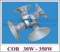 Lampe minière LED LED lumière industrielle haute baie de la baie lumineuse lumière 30W 50W 70W 100W 150W 200W 250W 300W 350W COB AC85-265V
