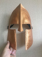 New Delicated Spartans 300 Mask Gold Fight Mask Masquerade P...