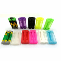 Dual 18650 Battery Silicone Case Extended Protective Cover Contain 2pcs Batteries Rubber Portable For E cig Sony vtc3 vtc4 vtc5 Double