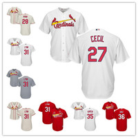 st. louis cardinals jerseys stitched womens youth white 27 brett cecil 28