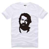 New Summer Fashion BUD SPENCER T Shirts Men Short Sleeve Cot...