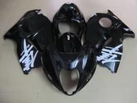 トップ販売フェアリングキット鈴木GSXR1300 96 97 98 99 00 01-07光沢のある黒のフェアリゾーンセットGSXR1300 1996-2007 OT25