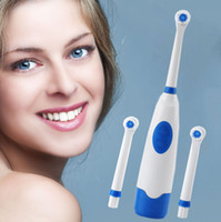 1 Set Effective Electric Toothbrush with 2 Soft Bristles Bru...