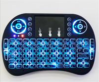 Rii Air Mouse Teclado inalámbrico de mano Mini I8 2.4GHz Touchpad Control remoto para MX CS918 MXIII M8 TV BOX Game Play Tablet PC Mini