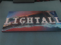 Açık 320 * 160mm 32 * 16 piksel 3in1 SMD 1/4 tarama RGB P10 tam renkli LED medya için Reklam medya LED Ekran