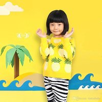 Autumn Winter Fashion Cardigan Kids Clothes Pineapple Patter...