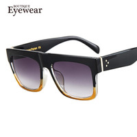Wholesale- BOUTIQUE Men Brand Designer Sun Glasses Women UV400 Square Celebrity Fashion Sunglasses
