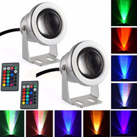 16 Colors 10W 12V RGB LED Underwater Fountain Light 1000LM S...