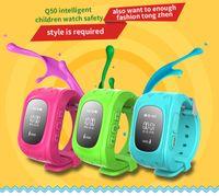 Q50 الاطفال الساعات الذكية الاطفال GPS مشاهدة سلامة الهاتف مع الأطفال SOS لمكافحة خسر ووتش للهاتف الذكي IOS الروبوت