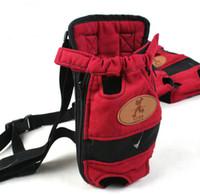 Confortable chien de compagnie chat Voyage sac à dos chien poitrine Carrier sac en plein air chien de compagnie transportant des sacs double-épaule livraison gratuite G405