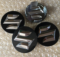 لسوزوكي 20 قطعة / الوحدة ABS 54 ملليمتر 58 ملليمتر سيارة عجلة مركز محور قبعات غطاء شارة شارة واقية من الشارة لاند ساموراي جيمني SX4 جراند فيتارا سويفت