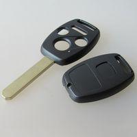جديد 3 زر + حالة مفتاح السيارة الذعر لهوندا 3 + 1 زر مفتاح بعيد قذيفة تغطية فوب