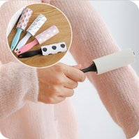 мини-ролик для прилипания линта милый портативный многоразовый липкий подборщик щетка для удаления волос для домашних животных