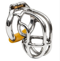 Ergonomic Stainless Steel Stealth Lock Male Chastity Device,...