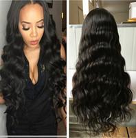 100% sin procesar cabello humano pelucas de encaje completo encaje pelucas frontales con cabello bebé 8a ola suelta peluca de encaje humano brasileño para mujeres negras