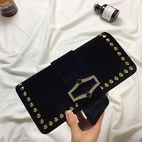 2017 New High Quality Fashion Women Real Leather Clutch Bag ...
