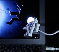 200pcs USB LED Light Lamp Flessibile Collo Astronauta Astronauta Led Light Reading Nightlight Nootbook Computer portatile 0001