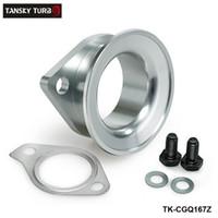 Tansky - Adattatore in alluminio per Mitsubishi Evolution EVO 6/7/8/9/10 Garrett Compressore bocca di scarico flangia TK-CGQ167Z