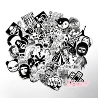 60 pcs mixed graffiti jdm sticker waterproof home decor Dood...