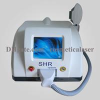 Máquina de depilación OPT SHR IPL / láser La máquina de depilación permenent / equipo de salón de belleza IPL con CE aprobado