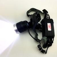CREE T6 faros LED Cabeza 10W lámpara de cabeza de la lámpara delantera de la bici Luz 5000Lumen Enfoque para la pesca que acampa yendo de bicicletas librar envío