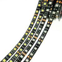 PCB nero PCB Striscia 5050 RGB IP65 impermeabile DC12V 300LED 5M flessibile flessibile LED Strip Lights 100m Lotto DHL spedizione gratuita