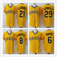 Men' s Pittsburgh Pirates Roberto Clemente 21# Francisco...
