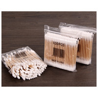 Wholesale- 10Pack Women Beauty Makeup Cotton Swab Double Hea...