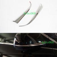 2x / LOT acero inoxidable Espejo retrovisor con ajuste decorativo para Cadillac SRX 2010-2015 bricolaje CASO DE L