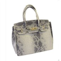 Wholesale- 2016 New Designer Handbags High Quality Snake Skin...