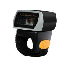 Portable Handheld Bluetooth WireleNT-R1 Indossabile Portatile 1D Bluetooth Ring Barcode Scanner Scansione Laser Codice Codice Bar Reader