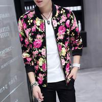 Wholesale Floral Bomber Jacket Men - Buy Cheap Floral Bomber ...
