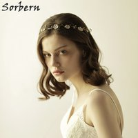 Sorbern Gold Bridal Headpieces Flower Hair Accessories Beads...