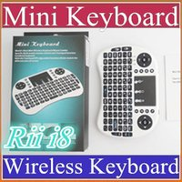 50X 2016 Wireless Keyboard rii i8 keyboards Fly Air Mouse Mu...