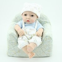 NPKDOLL 10 inch Simulation reborn boys baby doll, toot mouth...