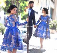 Short A Line Prom Dresses Kant Applicaties Formele Gelegenheid Party Dragen Jurk Custom Made Girls Homecoming Gradiontion Towns 2020