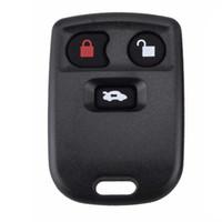 Substituição chave remota do exemplo de Shell do fob da substituição de 3 botões para o tipo de Jaguar S
