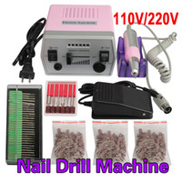Wholesale- New Professional Nail Art Tool Pro 220V Electric ...