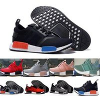 2018 newest Discount Cheap pink red gray NMD Runner R1 Prime...