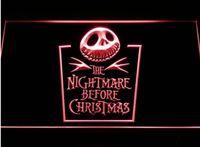كابوس قبل عيد الميلاد البيرة بار 3d علامات culb حانة led ضوء النيون تسجيل ديكور المنزل الحرف