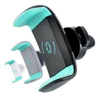 Mini Air Vent Car Mount Holder 360 Rotating Mobile Cell Clip pour iphone X 8 7 Samsung S8 GPS
