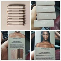 DHL Newest Kylie KKW BEAUTY Highlighters палочки / контуры Stick / контуры Cream Contour Ким Кардашян 2 в 1 Макияж Set