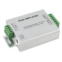 1 ШТ. DC12-24V 12A 24A RGB Усилитель Контроллер Усилитель Сигнала Для 3528SMD 5050SMD RGB LED Полосы Светодиодные Модули
