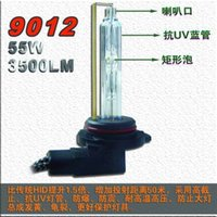 1 Par 9012 HIR2 5500 K 12 V 55 W 3500LM Genuíno AC HID Xenon Lâmpadas de Substituição Lâmpadas de Alto Lúmen Brilhante Brilhante Base De Metal 1.5 Vezes Brilhante