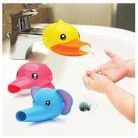 الكرتون الحيوان الاطفال اليد الأطفال غسل صنبور المياه الموسع طفل الصنبور الموسع 5 نمط لطيف صنبور نقالة kid387