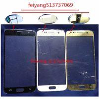 10 pz A + qualità Sostituzione LCD Frontale Touch Screen Vetro Esterno Lente Per Samsung Galaxy S6 G920 G920F P T I