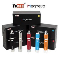 Yocan Magneto Kit Kits de stylo à cire E Kits de cigarette avec Magneto Connection Dab Tool 1100mAh Battery vs Yocan Evolve Plus