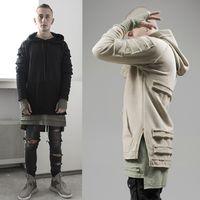 Wholesale-2016 Hoodiemänner Sweatshirts Marke Orignal AUFMASS US-Größe Pullover Design Langarm Hip-Hop-Mode